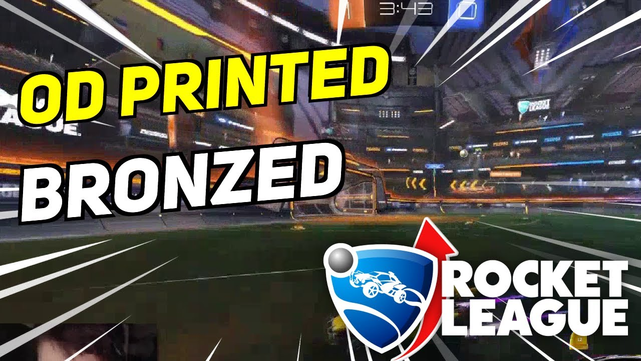 Daily Rocket League Moments: OD PRINTED AND BRONZED