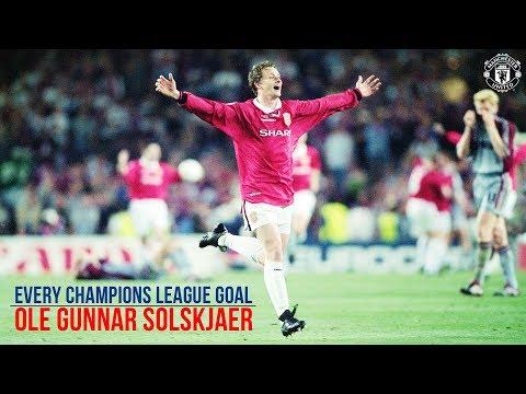 Ole Gunnar Solskjaer   All 20 UEFA Champions League Goals