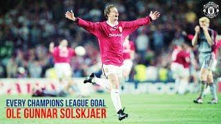 Ole Gunnar Solskjaer | All 20 UEFA Champions League Goals