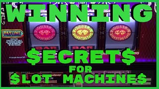 💰 Winning Secrets for Slot Machines ✦ An Interview with Steve Bourie ✦ Answers to YOUR Questions!