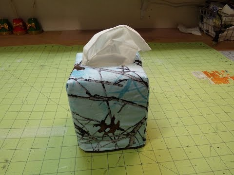 How To Sew A Reversible Tissue Box Cover