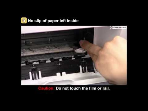 how to open a canon mg2920 to change the ink