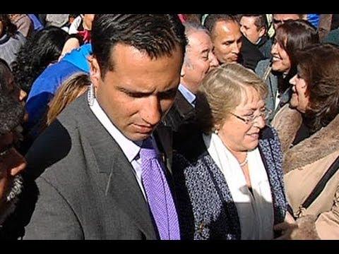 Así trabaja seguridad de Bachelet tras el escupitajo