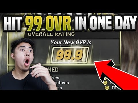 *NEW* FASTEST METHOD TO HIT 99 OVERALL IN ONE DAY ON NBA 2K20 | EASIEST REP UP METHOD TO 99 OVERALL
