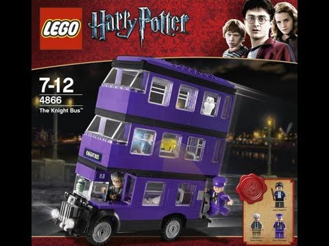 How To Build Lego Harry Potter 4866 Instructions Youtube