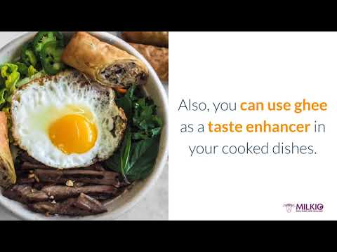 How to cook with ghee: tips that no chef will share with you