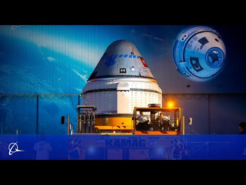 Boeing Starliner Rolls Out of the Factory, Is Mated on OFT Mission Atlas V