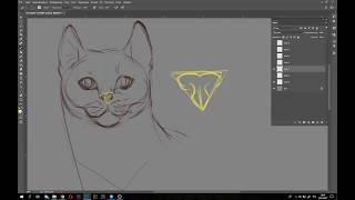Как рисовать кошек, НЕ туториал / How to draw cats, NOT a tutorial