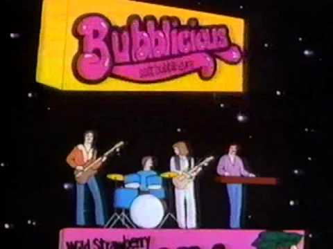 Groovy Movies: 1977 Bubblicious TV Commercial