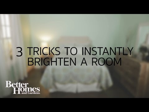 3 Tricks to Instantly Brighten a Dark Room