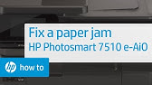 fixing FALSE error of paper jam HP Deskjet Printer - YouTube