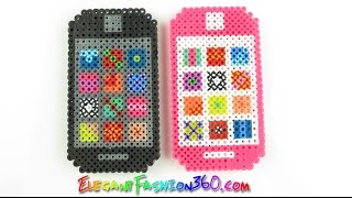 DIY Perler/Hama Beads Iphone 3D - How to  Tutorial