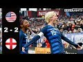 Download Mp3 USA vs England 2 - 2 All Goals & Highlights | 2019 SheBelieves Cup