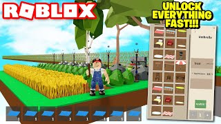 FASTEST WAY TO GET ALL BLUEPRINTS In Roblox Skyblock