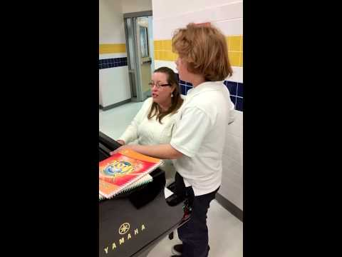 Holiday music at Singing River Academy