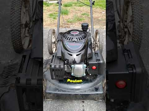 Repeat Harbor Freight Predator lawn mower engine retrofit by