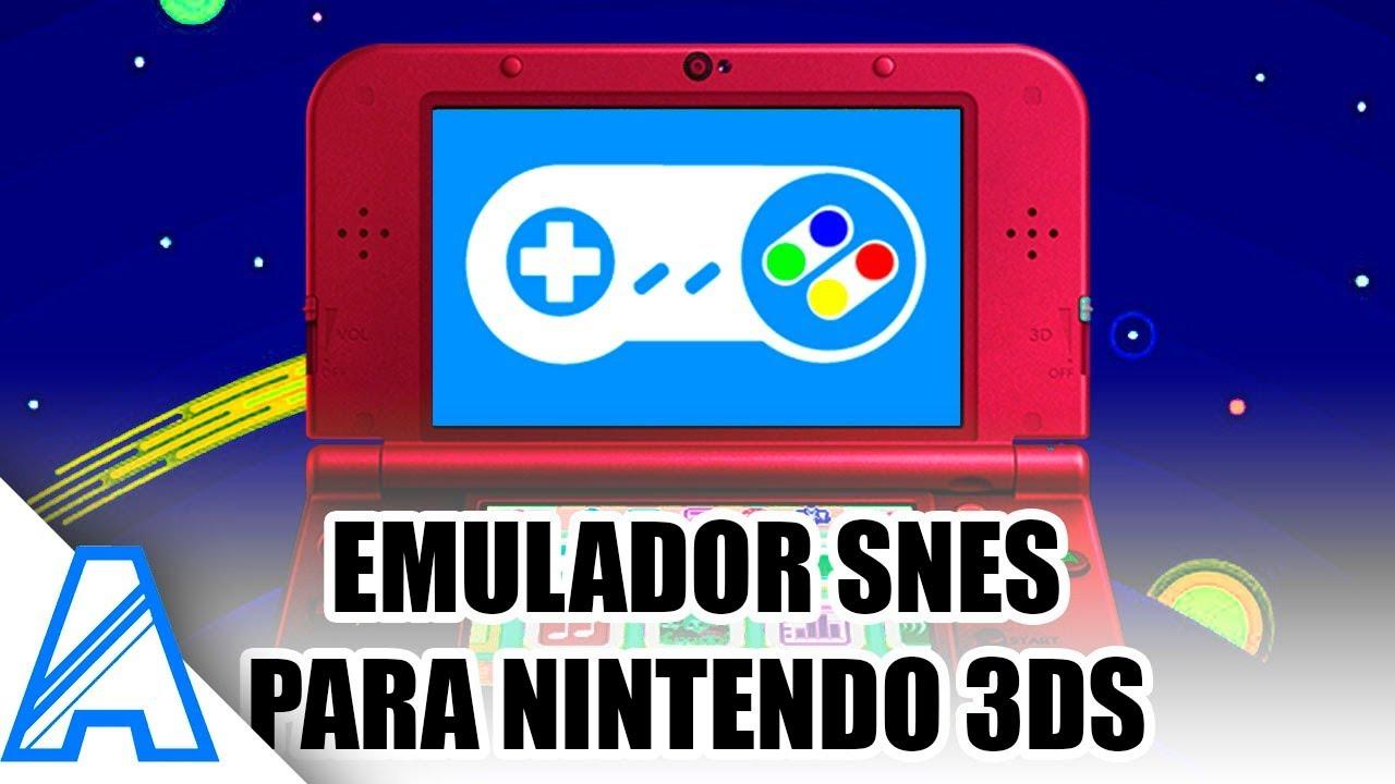 🎮 Instalar Emulador SNES para Nintendo 3ds