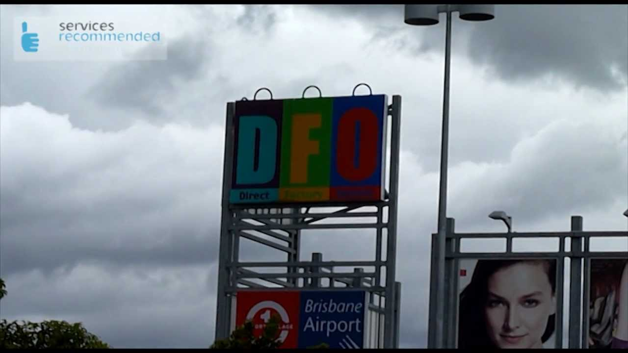 0cf02603ec DFO Brisbane Airport - Video review by Tap d In - YouTube