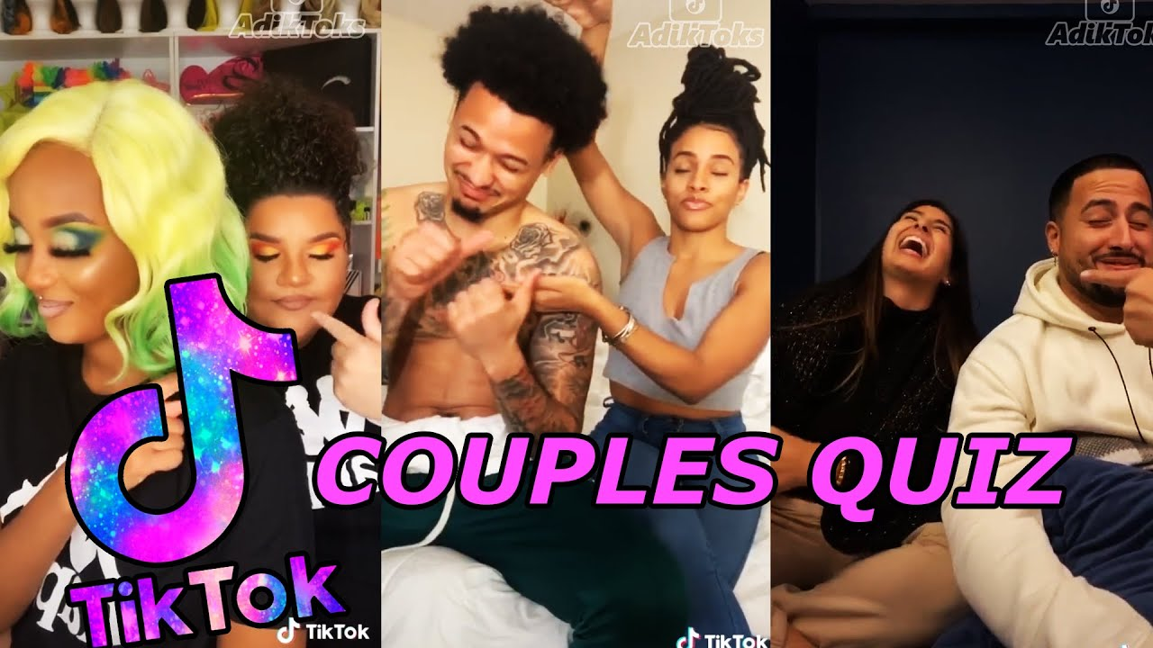 Cute Couples Quiz Challenge Tiktok Compilation 2020 Youtube