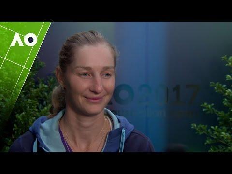 Ekaterina Makarova post-match interview (3R) | Australian Open 2017
