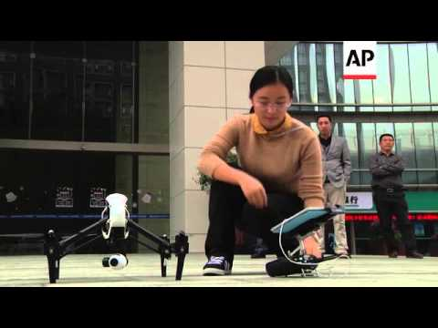 Lift off for China's booming drone market