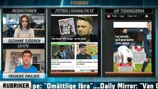 Fotbollskanalen Headlines: Zlatans rekordjakt - fyra milstolpar hägrar - TV4 Sport