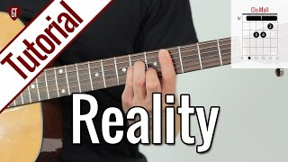 Lost Frequencies - Reality | Gitarren Tutorial Deutsch
