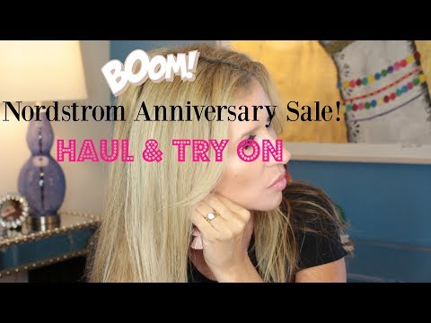 Nordstrom Anniversary Sale ~ Haul and Try On