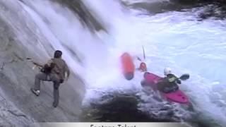 Kayaker Caught in Hydraulic Whirlpool (Original Video)
