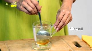 How to cure a sore throat instantly for kids