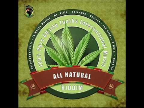 All Natural Riddim Mix Feat. Jah Vinci, Kelissa, (Ghetto Youth International) (April 2017)