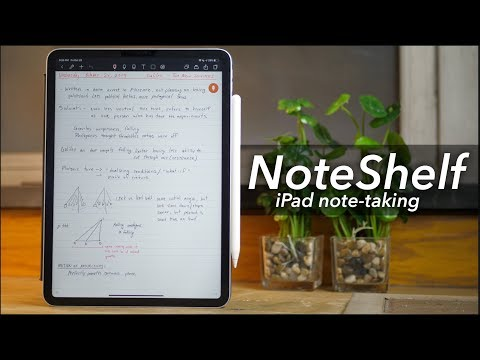 NoteShelf for iPad - GoodNotes/Notability Replacement?