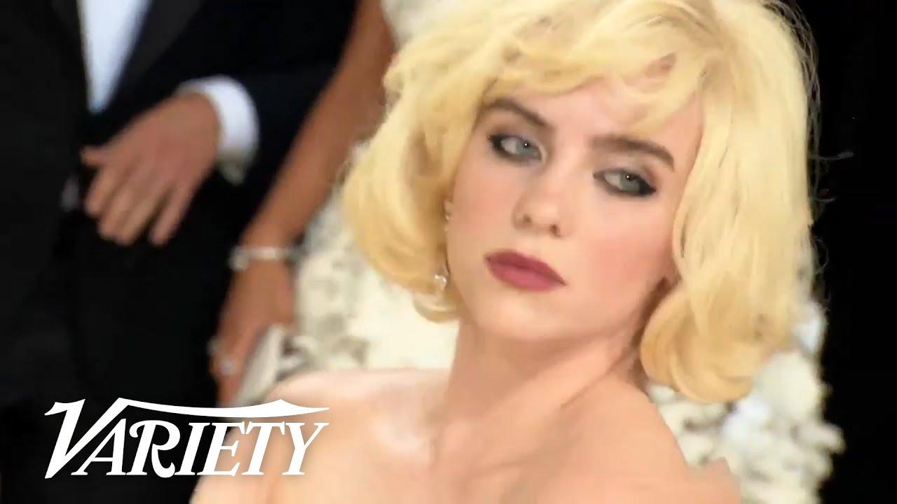 Billie Eilish Channels Marilyn Monroe at the 2021 Met Gala