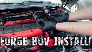 forge bov install fiat 20v turbo coupe