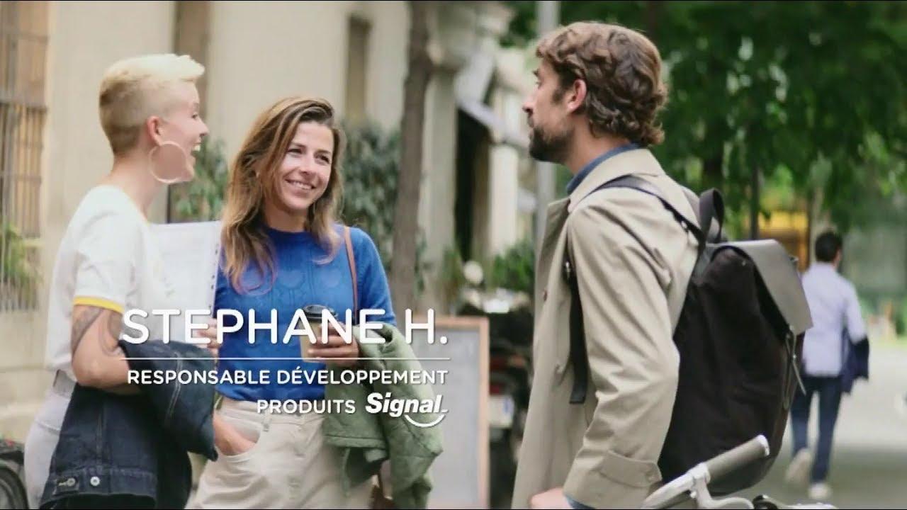 """Musique pub Signal intégral 8 Unilever """"Stéphane H. responsable développement produits signal""""  2021"""