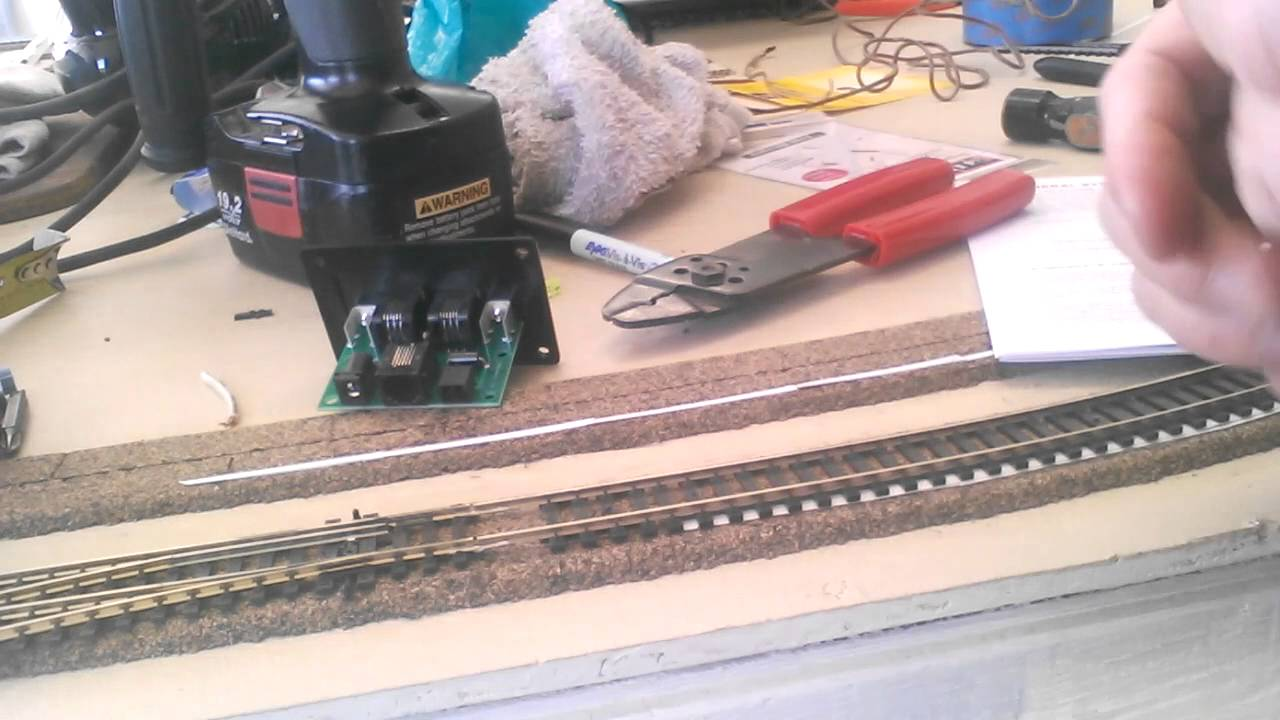 Nce Part 1 How I Do Dcc Wiring Youtube Track Bus