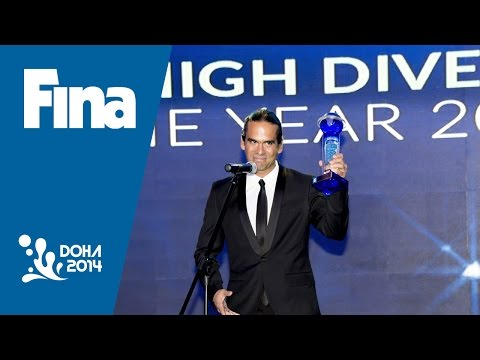 Orlando Duque 2014 FINA Male High Diver of the Year