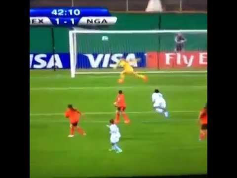 Espectacular golazo de Nigeria ante Mexico || Mundial femenino sub-20