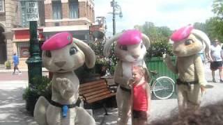 The Pink Berets (From Hop) Dancing At Universal Studios!