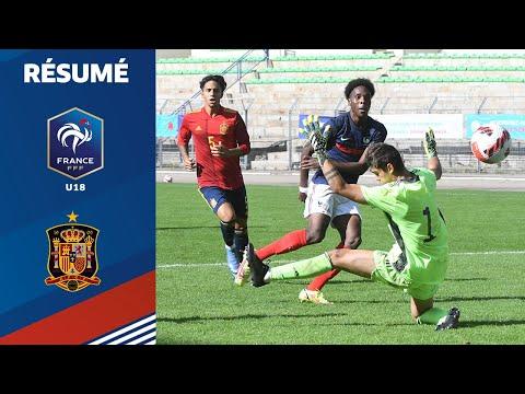 Download U18 : France - Espagne (2-2), le résumé