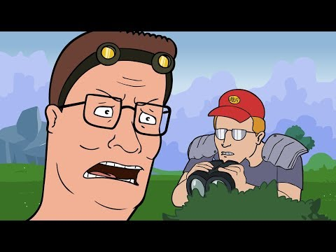Fortnite Hank (King of the Hill Fortnite Parody)