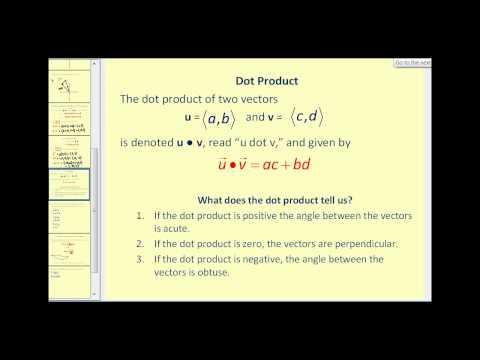 Vector Operations (2D)
