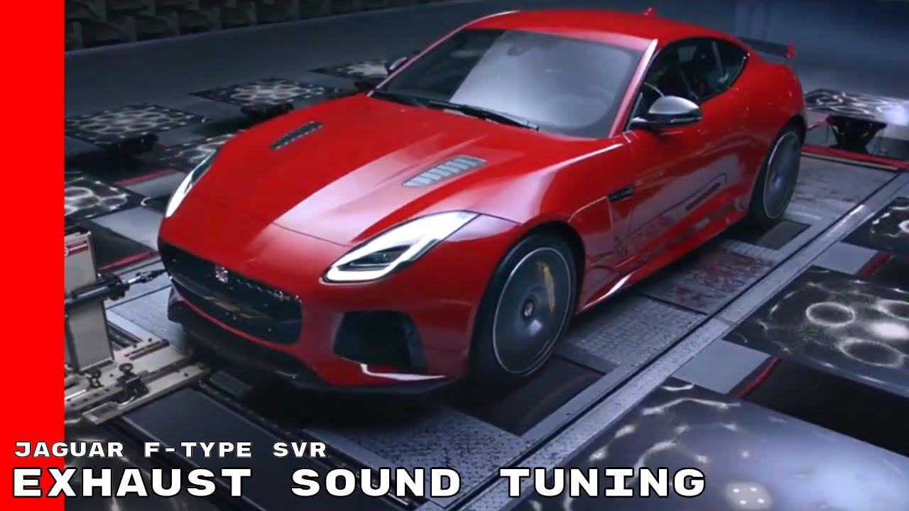 2017 jaguar f type svr exhaust sound tuning youtube. Black Bedroom Furniture Sets. Home Design Ideas