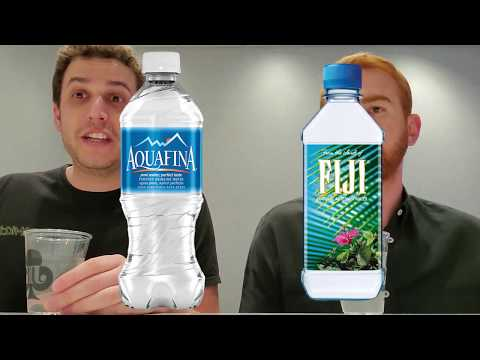 Aquafina Vs Fiji Water
