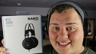 AKG K52 studio headphones!