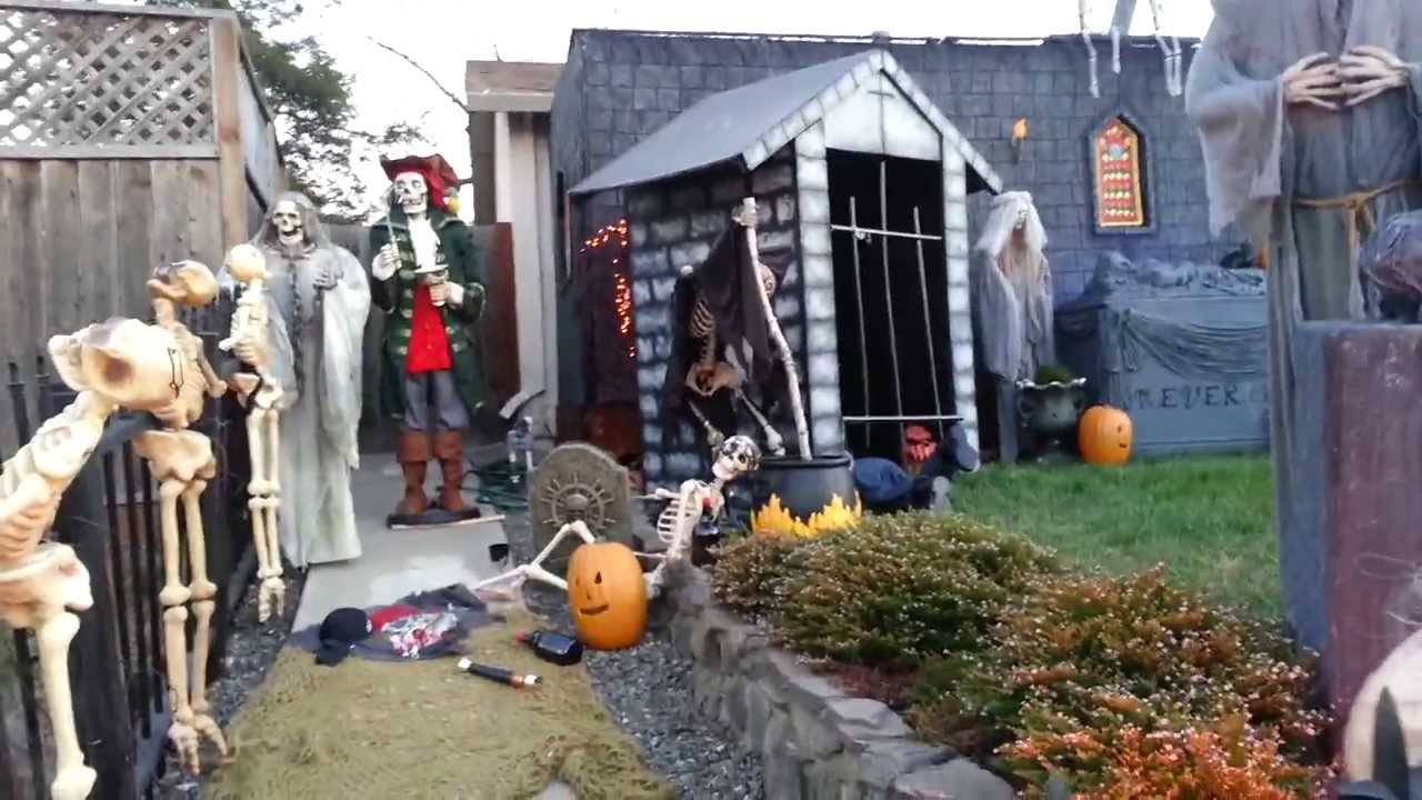 Halloween Yard.Halloween Yard Display 2013