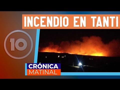 Diego Concha en Crónica Matinal - incendios