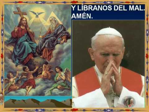 Canción Padre Nuestro Papa Juan Pablo II karaoke John Paul II Pater Noster BEATO
