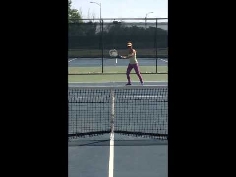 My Chinese Wife on Tennis