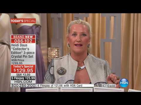 HSN | Heidi Daus Fashion Jewelry Anniversary 09.12.2016 - 01 AM